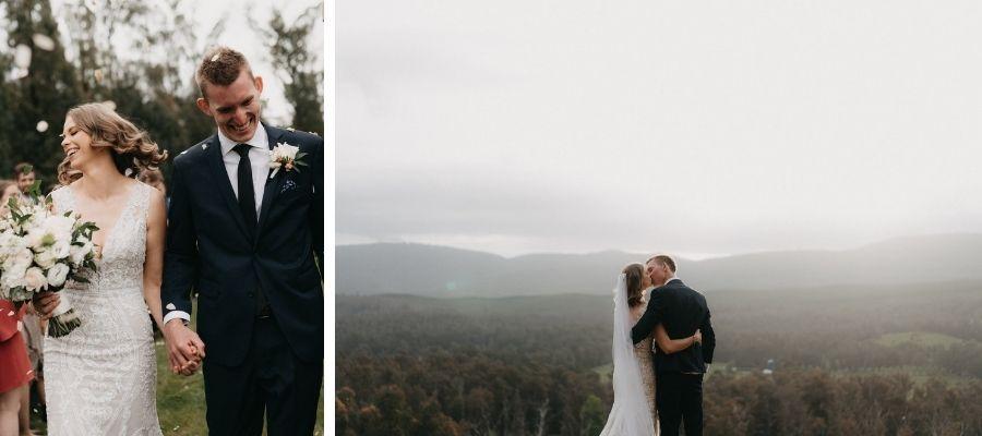 Alexia dress real wedding
