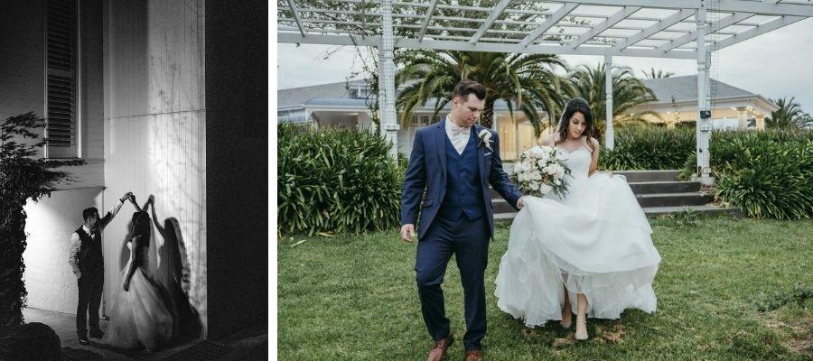 Tarryn real wedding