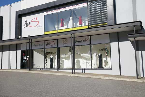Contact Leah S Designs Melbourne bridal shop
