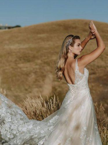 Romantic wedding dresses in Melbourne