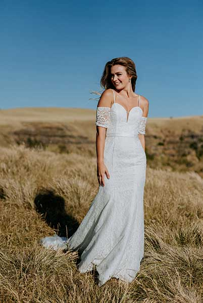 Wedding dresses Fitted lace Jules