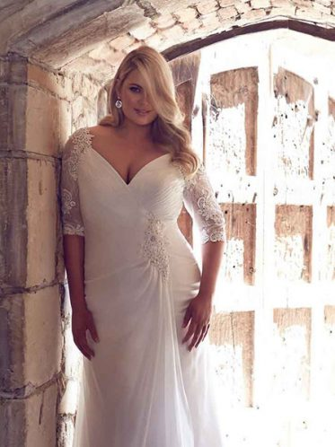 Plus size wedding dress Odessa