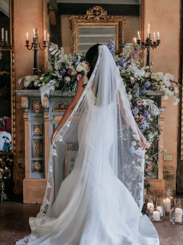 Wedding dress veil for Harlow gown